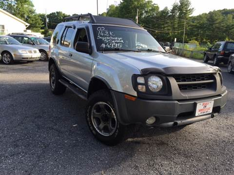 2002 Nissan Xterra for sale at Deals On Wheels LLC in Saylorsburg PA