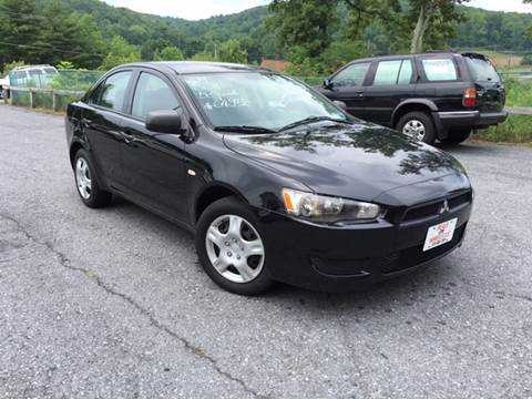 2009 Mitsubishi Lancer for sale at Deals On Wheels LLC in Saylorsburg PA