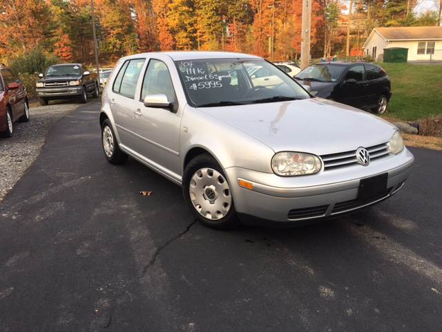 2004 Volkswagen Golf for sale at Deals On Wheels LLC in Saylorsburg PA
