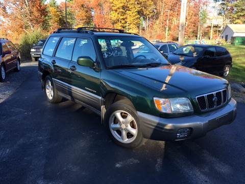 2002 Subaru Forester for sale at Deals On Wheels LLC in Saylorsburg PA