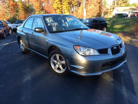 2007 Subaru Impreza for sale at Deals On Wheels LLC in Saylorsburg PA