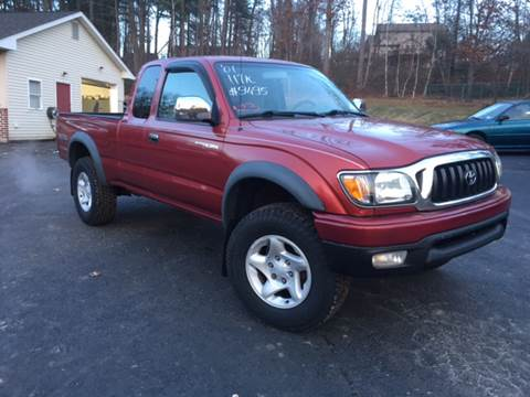 2001 Toyota Tacoma for sale at Deals On Wheels LLC in Saylorsburg PA