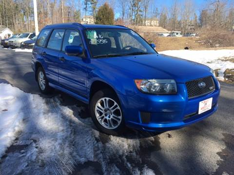 2008 Subaru Forester for sale at Deals On Wheels LLC in Saylorsburg PA
