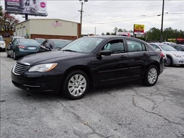 2012 Chrysler 200 for sale in Snellville, GA