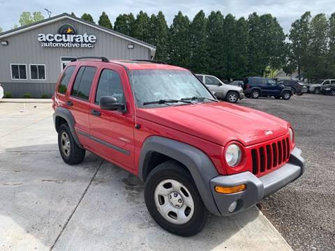 2004 Jeep Liberty for sale in Saranac, MI