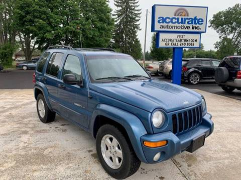 2003 Jeep Liberty for sale in Belding, MI