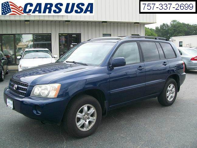 2003 Toyota Highlander AWD 4dr SUV V6 In Virginia Beach VA