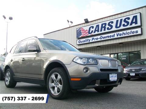 2008 BMW X3 for sale in Virginia Beach, VA