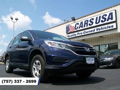 2015 Honda CR-V for sale in Virginia Beach, VA