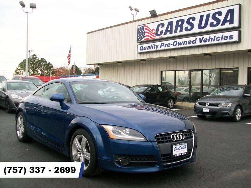 Audi Tt T Dr Coupe In Virginia Beach VA Cars USA - Audi virginia beach