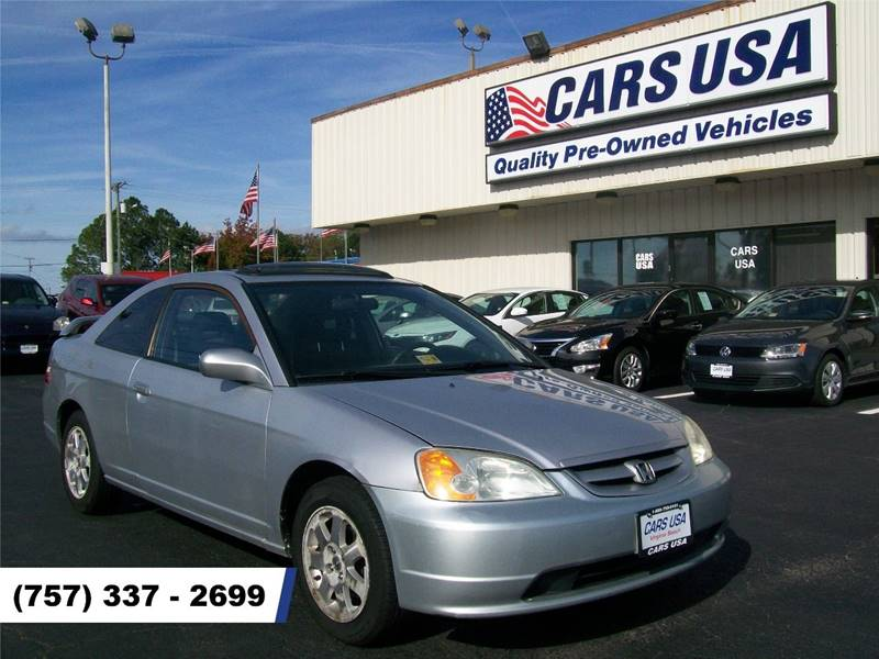 2003 Honda Civic EX 2dr Coupe   Virginia Beach VA