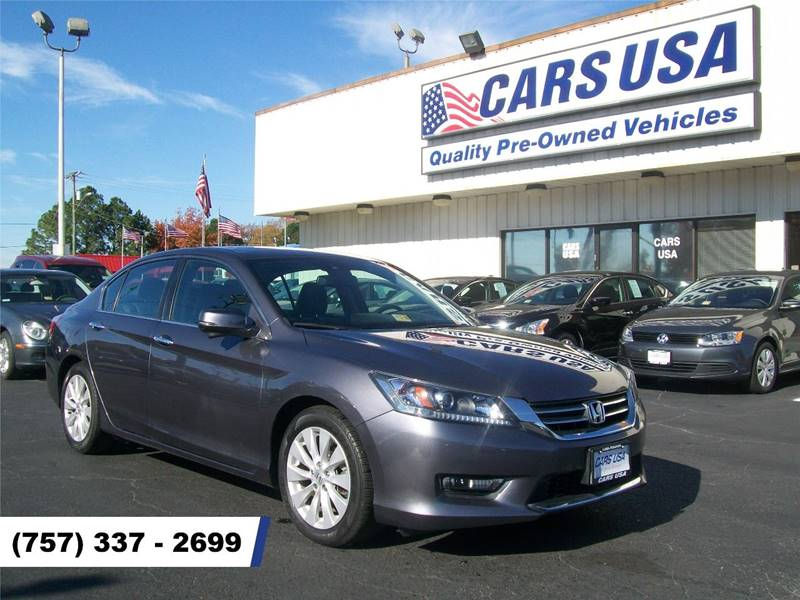 2014 Honda Accord EX L 4dr Sedan   Virginia Beach VA
