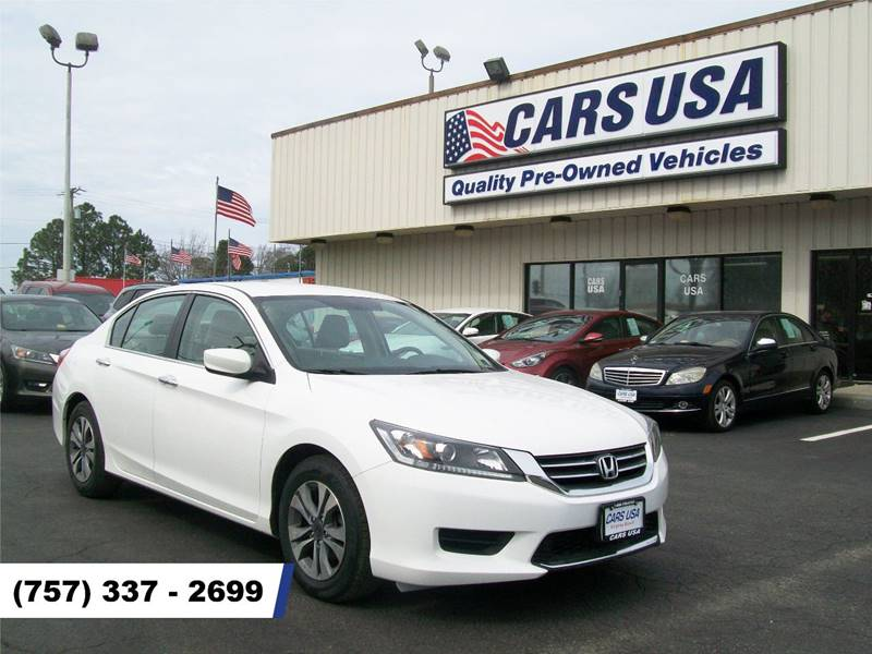 2015 Honda Accord LX 4dr Sedan CVT   Virginia Beach VA