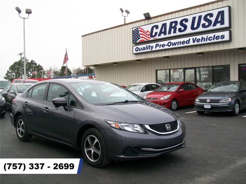 2015 Honda Civic SE 4dr Sedan   Virginia Beach VA