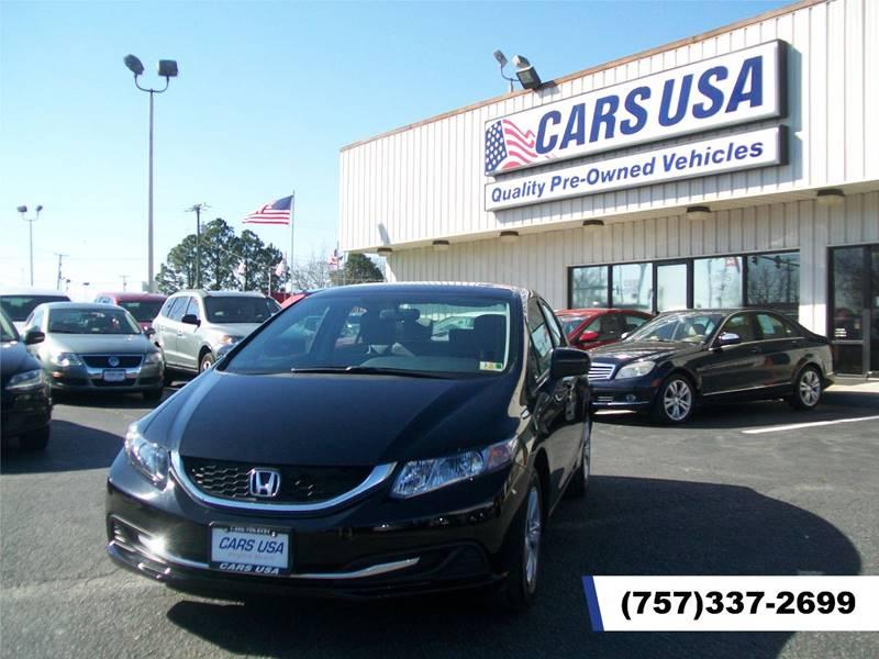 2015 Honda Civic LX 4dr Sedan CVT   Virginia Beach VA