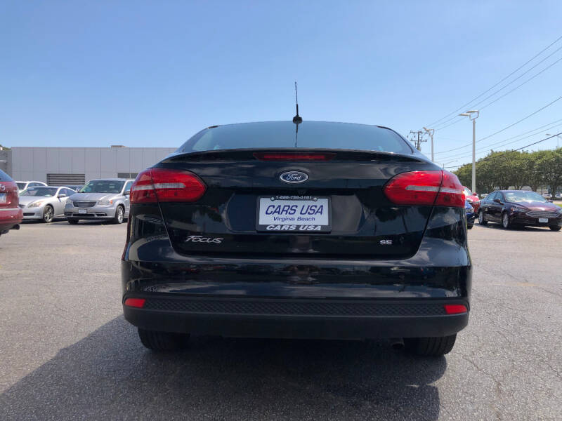 2018 Ford Focus SE 4dr Sedan - Virginia Beach VA