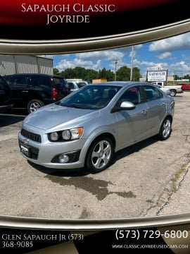 2014 Chevrolet Sonic for sale at Sapaugh Classic Joyride in Salem MO