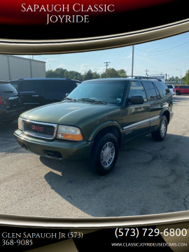 2001 GMC Jimmy for sale at Sapaugh Classic Joyride in Salem MO