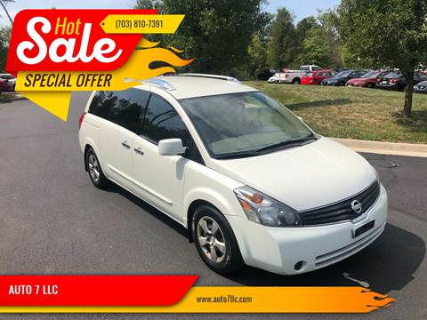 2009 Nissan Quest for sale in Chantilly, VA
