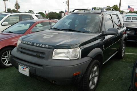 2002 Land Rover Freelander for sale in Houston, TX