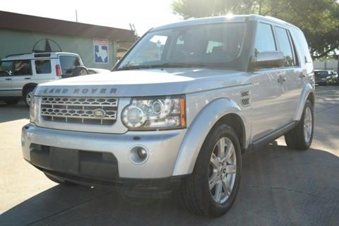 2011 Land Rover LR4 for sale in Houston, TX