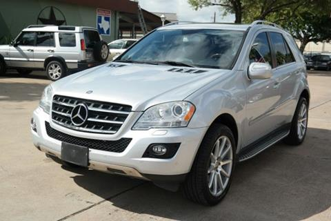 2010 Mercedes-Benz M-Class for sale in Houston, TX