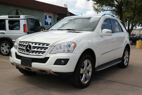 2011 Mercedes-Benz M-Class for sale in Houston, TX