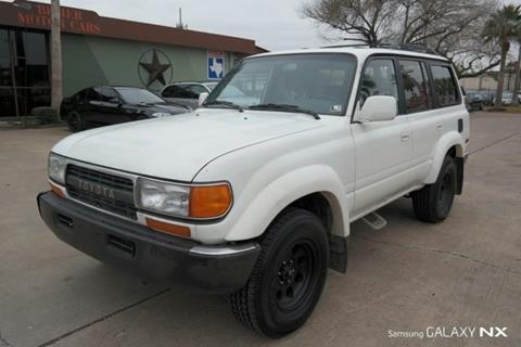 1993 Toyota Land Cruiser For Sale In Houston, TX