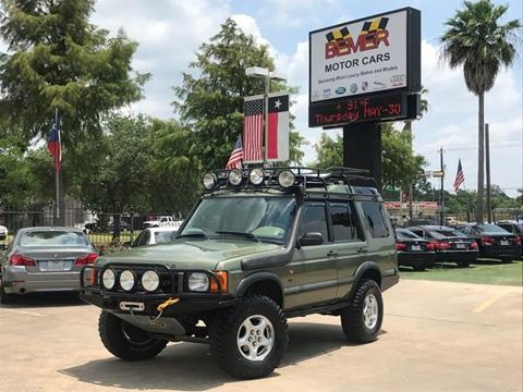 2001 Land Rover Discovery Series II for sale in Houston, TX