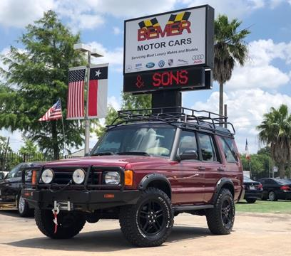 2000 Land Rover Discovery Series II for sale in Houston, TX