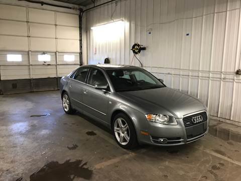 2007 Audi A4 for sale at Riverside Garage Inc. in Haverhill MA