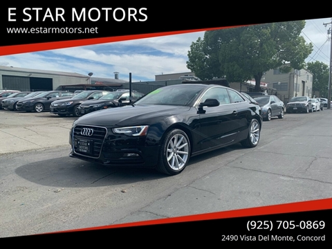 2015 Audi A5 for sale in Concord, CA