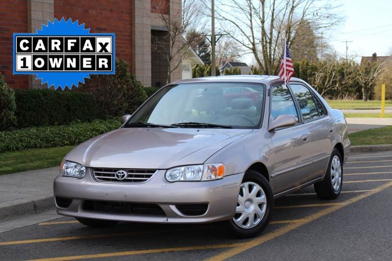 2001 Toyota Corolla For Sale At Wiser Motors In Lynden WA