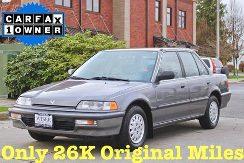 1990 Honda Civic for sale in Lynden, WA