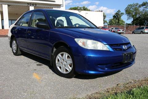 2005 Honda Civic for sale in Glen Burnie, MD