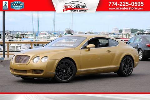 2005 Bentley Continental GT for sale in West Bridgewater, MA