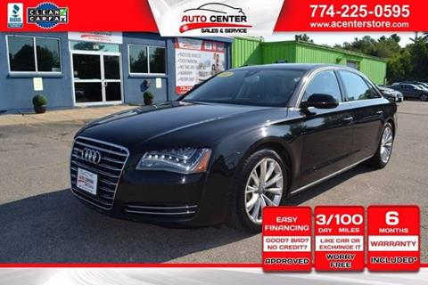 2011 Audi A8 L for sale in West Bridgewater, MA