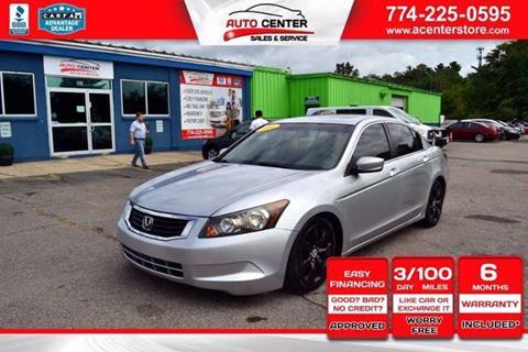 2008 Honda Accord for sale in West Bridgewater, MA