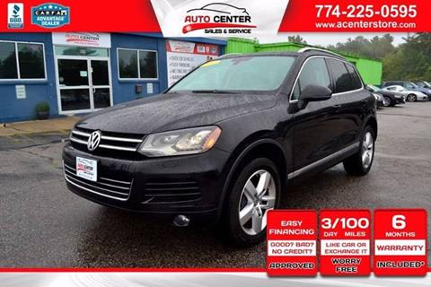 2012 Volkswagen Touareg for sale in West Bridgewater, MA