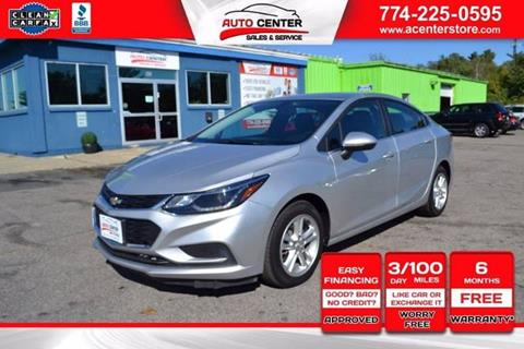 2016 Chevrolet Cruze for sale in West Bridgewater, MA
