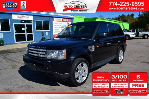 2006 Land Rover Range Rover Sport for sale in West Bridgewater, MA
