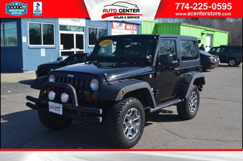 2008 Jeep Wrangler for sale in West Bridgewater, MA