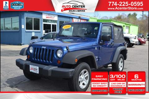 2009 Jeep Wrangler for sale in West Bridgewater, MA