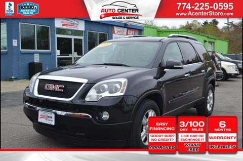 2009 GMC Acadia for sale in West Bridgewater, MA