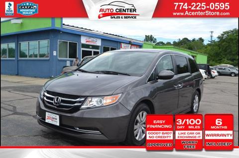 2015 Honda Odyssey for sale in West Bridgewater, MA