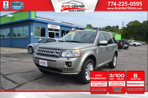 2011 Land Rover LR2 for sale in West Bridgewater, MA