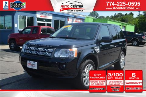 2012 Land Rover LR2 for sale in West Bridgewater, MA