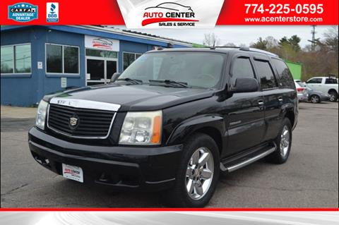 2004 Cadillac Escalade for sale in West Bridgewater, MA