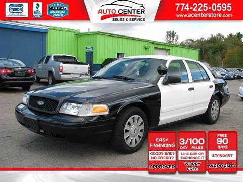 2010 Ford Crown Victoria for sale in West Bridgewater, MA