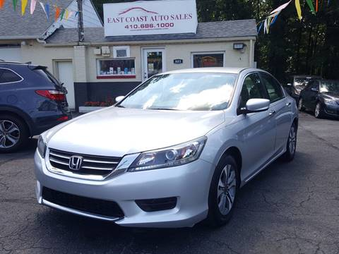 2013 Honda Accord for sale in Essex, MD